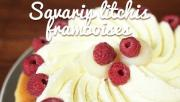 Savarin Litchis Framboises