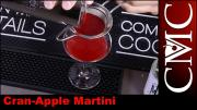 Cran Apple Martini