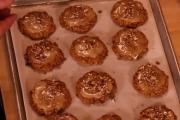 Frosted Maple Pecan Cookies