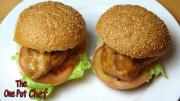Teriyaki Chicken Burgers One Pot Chef