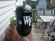 Seasoning The Mini Wsm First Look At My Mini Weber Smokey Mountain Build