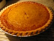 Mashed Cooked Pumpkin Pie
