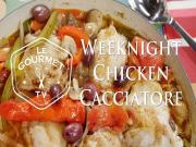Weeknight Chicken Cacciatore Recipe