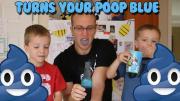 Blue Poop
