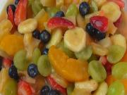 Rich Pudding Fruit Salad