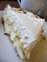 Banana And Vanilla Cream Pie