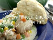 Biscuit Topped Chicken Pot Pie Recipe
