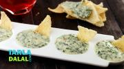 Cheesy Spinach Dip 1016444 By Tarladalal