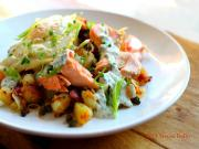 Salmon Bacon And Potato Hash Holiday Recipe