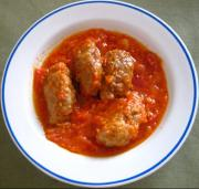 Meatballs With Stewed Tomatoes