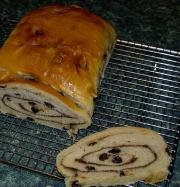 Raisin Pinwheel Loaf