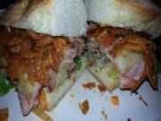Smoked Pulled Pork Sandwich