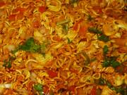 Instant Snack Noodles Bhel