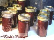 Home Canned Rhubarb Berry Jam