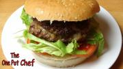Cheese Stuffed Burgers One Pot Chef