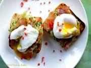 Avocado Smash Prosciutto And Poached Eggs On Toast Stevescooking