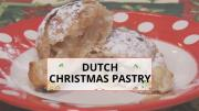 How To International Christmas Cooking Dutch Pastries