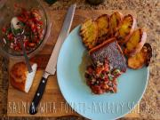 Salmon With Tomato Anchovy Salsa Steves Suppers