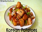 Easy Korean Potatoes Side Dish