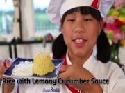 Rice Wlemony Cucumber Sauce