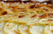 Sliced Potatoes Au Gratin