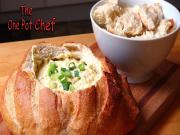 Creamy Corn Dip Cob Loaf
