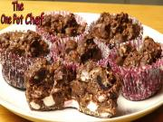 Chocolate Rocky Road Cups
