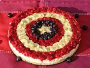 How To Make A No Bake Captain America Cheesecake