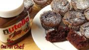3 Ingredient Nutella Brownie Cupcakes One Pot Chef
