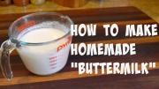 How To Make Homemade Buttermilk Buttermilk Substitute 1017356 By Cookingwithcarolyn