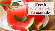 Fresh Watermelon Lemonade Recipe Summer Drinks 1017342 By Divascancook