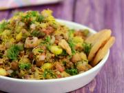Sprouts And Corn Chatpata Chaat By Tarla Dalal
