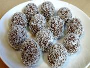 Coconut Date Balls 2 Ingredients