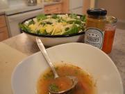 Sweet Smoky Mustard Nectarine Vinaigrette