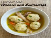 Homemade Chicken Dumplings Pic