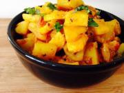 Tasty Zucchini Potato Masala