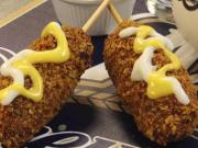 Milwaukee Brewers Offering Fried Nachos On A Stick 18 Inch Bratwurst