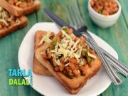 Beans On Toast By Tarla Dalal
