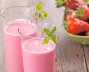 Low Calorie Strawberry Smoothie