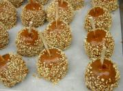 Nutty Caramel Apples