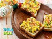 Grilled Corn Toast