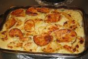 Microwave Au Gratin Potatoes