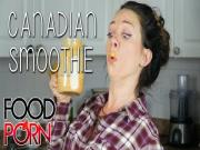 Food Porn Fall Canadian Smoothie Recipe