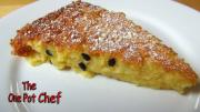 Passionfruit Coconut Pie One Pot Chef