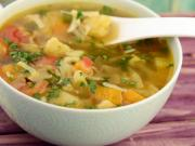 Winter Vegetable Soup By Tarla Dalal