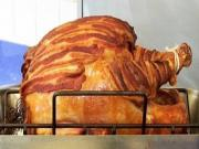 Bacon Wrapped Turkey