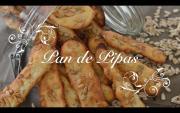 Barritas De Pan De Pipas Caseras Para Picar Entre Horas Como Hacer Pan De Pipas Pan Con Pipas 1019861 By Chefdemicasa
