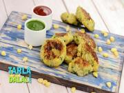 Corn And Potato Tikki