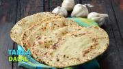 Butter Garlic Naan Tava Garlic Butter Naan 1016288 By Tarladalal
