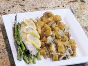 Parchment Wrapped Cod Easy Week Night Meal With Lindas Pantry